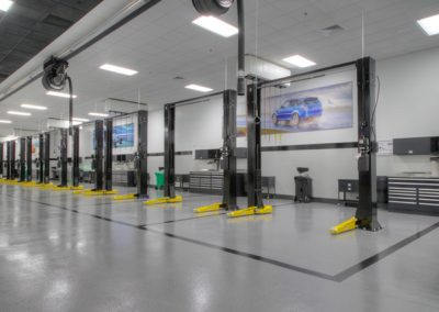 industrial Auto Floor Coating