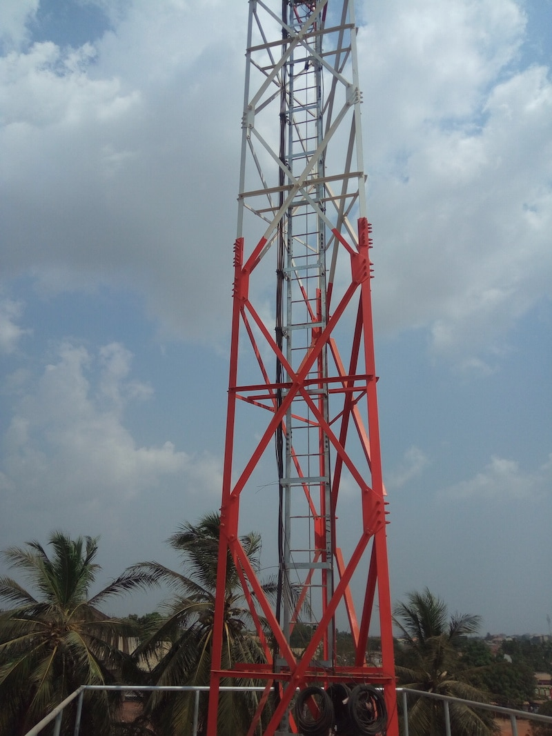cell tower paint coating